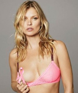 Kate Moss for breast cancer